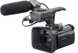 The excellent Sony NX-30 camcorder.