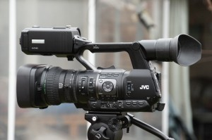 The JVC HM650 Camcorder