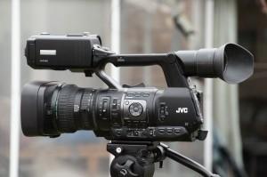 The JVC HM650 Camcorder
