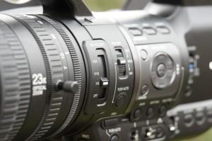 The 23x servo zoom lens.
