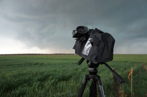 Storm chasing with a PMW-F5